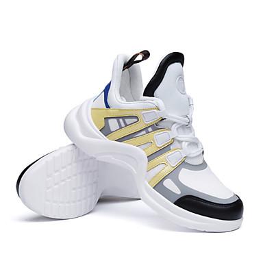 Tulle Confort 06795399 Chaussures Basket Femme Jaune Bleu Talon été Plat Noir Printemps RIZwwn5xq
