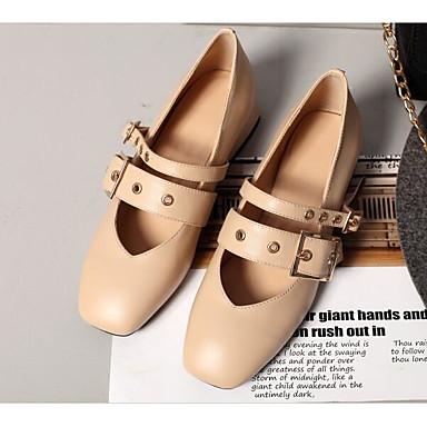 Noir Bottier Chaussures Printemps 06801407 Automne à Talons Amande Rose Chaussures Femme Confort Nappa Talon Cuir PWpBYqv