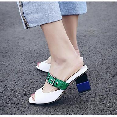 Femme Sandales Chaussures Amande Bottier Eté Talon Blanc Confort Nappa Cuir 06797590 ppq1rg