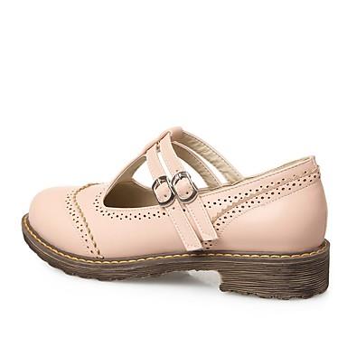 Printemps Femme Beige Confort Sandales Bottier Chaussures 06795414 Rose Talon été Polyuréthane Noir qEEAr