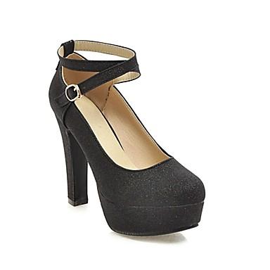 Printemps été Talon Violet Bottier Femme à Chaussures Noir Argent Chaussures Talons 06818712 Confort Polyuréthane WRxHn4