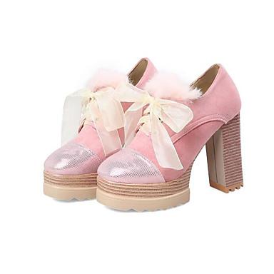 Basique Confort Talons Bottier Escarpin Automne Femme Printemps à Talon Jaune 06817252 Chaussures Chaussures Polyuréthane Rose 4waqwzYI