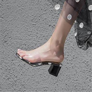 Blanc Talon Escarpin Sandales Basique Bottier synthétique Chaussures Femme ouvert Eté Bout Noir Matière 06782230 xPZw4