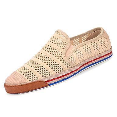 Men's & Mesh Summer Comfort Loafers & Men's Slip-Ons Black / Gray / Khaki a9f9a3