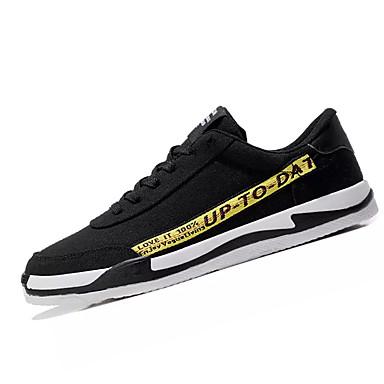 Muškarci PU Ljeto Udobne cipele Sneakers Color block Sive boje / Crno / crvena / Crna / žuta