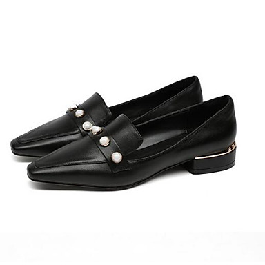 Blanc Confort Bas 06837990 à Femme Nappa Vin Chaussures Talon Talons Cuir Printemps Chaussures Noir IUqxTBv