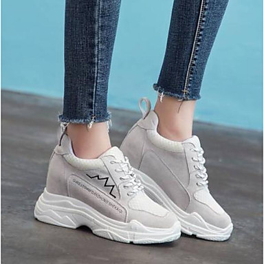 06775559 Femme Chaussures Fermé Noir Beige Bout Daim Creepers Dtixktsd-144636-2755145 Refreshing And Beneficial To The Eyes