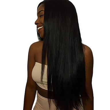 baratos Extensões de Cabelo Natural-4 pacotes Cabelo da Birmânia Liso 8A Cabelo Humano Não processado Cabelo Natural Cabelo Humano Ondulado Extensor Um Pacote de Solução 8-28 polegada Côr Natural Tramas de cabelo humano Design Moderno
