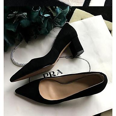 à Bottier Escarpin Chaussures Chaussures Basique Vin Femme Talon Noir Talons Rose 06840453 Printemps Confort Daim YF0ZdYxqIv
