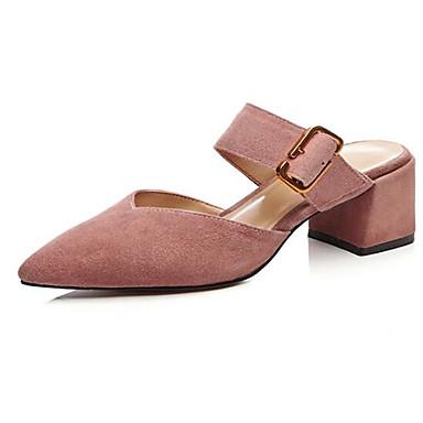 Bottier mouton Chaussures Talon Femme Confort Eté Noir Bout Sabot de Chair Daim Peau Mules 06797622 amp; fermé wBxSxP4Uq