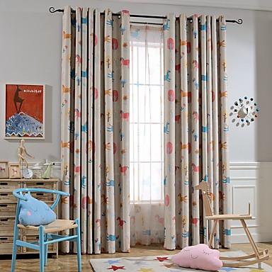 sur mesure occultant rideaux occultants rideaux deux panneaux personnalis e beige chambre d. Black Bedroom Furniture Sets. Home Design Ideas