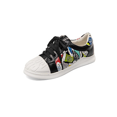 06848507 été Femme Cuir Noir Talon Basket Plat Chaussures Nappa Printemps Confort Blanc wUUqIPr