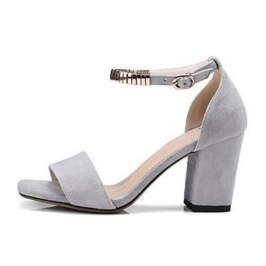 Eté Gris Amande Chaussures Daim Sandales Femme Talon Bottier Confort 06843298 Noir zEPq86w
