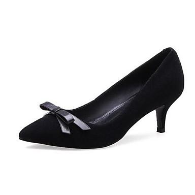 Femme Basique à Chaussures Kaki Escarpin Rose 06863732 Daim Noir Talon Aiguille Talons Chaussures Automne AYBAgrnwq