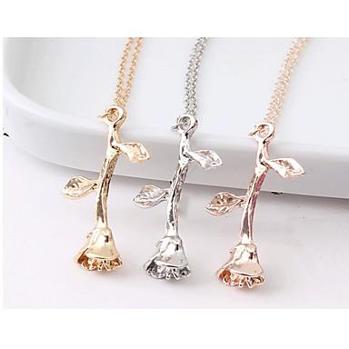 a7ec1ac06d3b ... Collares con colgantes   Collares de cadena - Rosas damas