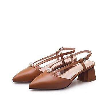 Chaussures Eté Talons claire Femme Escarpin Nappa Noir Cuir Talon Rose 06841668 Bottier Basique Brun Confort Chaussures à UttdqwzCxn
