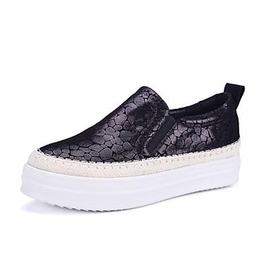 Chaussons D6148 mouton Creepers Confort Peau 06850213 et Automne Vin Mocassins Chaussures de Noir Femme x8tp4p
