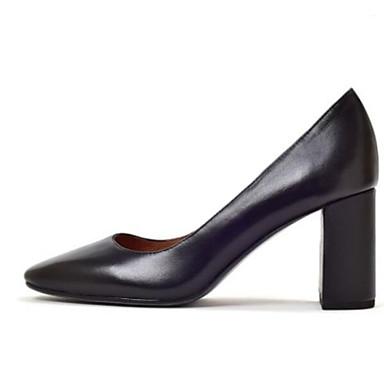 Cuir Chaussures Basique Escarpin Talon Femme Noir Eté Talons 06863643 Amande Nappa Chaussures à Bottier xXq1dUd5Iw