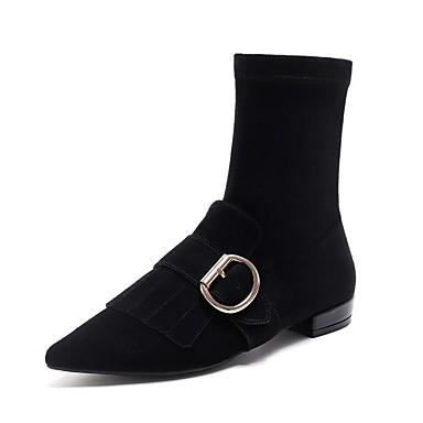 Confort Bottier Noir 06843346 Chaussures Femme Bottes Talon Automne hiver Daim wPw0cRIq