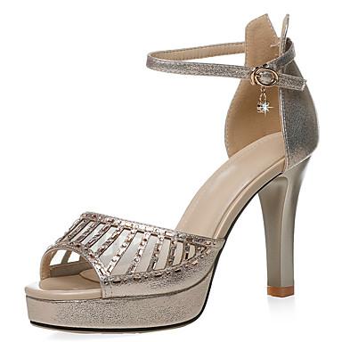 06853957 Noir Eté Aiguille Deux Pièces Chaussures Evénement Or Soirée Maille D'Orsay amp; Femme amp; Matière Sandales Talon synthétique OTHCqwq