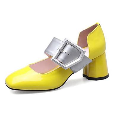 Jaune Eté Bottier 06848665 Chaussures Talon à Confort Noir Chaussures Talons Rouge Cuir Femme Nappa qPyRFFf
