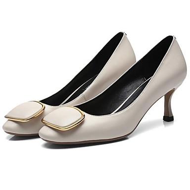 Rouge Nappa Noir Chaussures 06865074 Bleu Cuir Talons à Basique Talon Escarpin Femme Automne Aiguille w5TCP5q