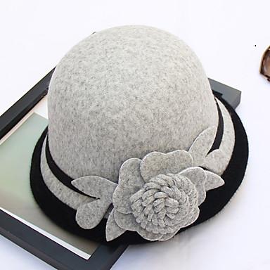 billige Hodeplagg til fest-Andre Material Hatter med Blomst 1pc Bryllup / Fest / aften Hodeplagg