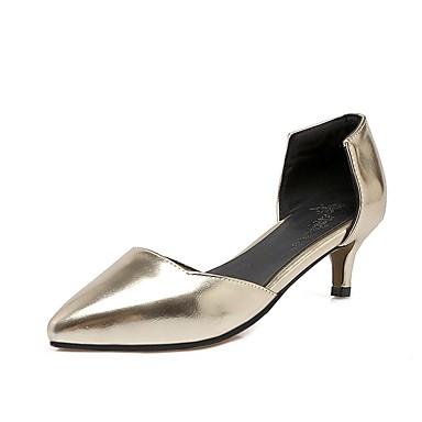 Rosa Plateado 06848680 Tacón Pump Stiletto PU Dorado Zapatos Tacones Verano Básico Mujer wpvqgv
