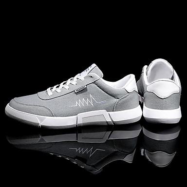 Homme Chaussures de confort confort confort Polyuréthane Automne Basket Noir / Gris / Noir / Rouge | Une Grande Variété De Marchandises  8de32a