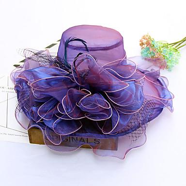 abordables Coiffes-Tulle Chapeaux avec Volants 1pc Mariage / Fête / Soirée Casque