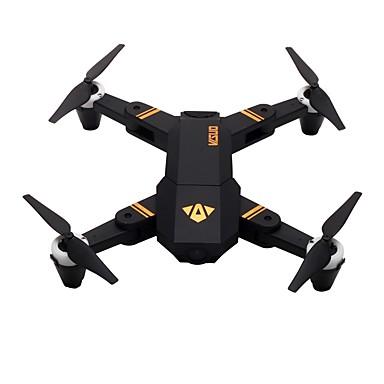abordables Radiocommandé-RC Drone VISUO XS809Mini RTF 4 Canaux 6 Axes 2.4G Avec Caméra HD 2.0MP 720P Quadri rotor RC Retour Automatique / Mode Sans Tête / Accès En Temps Réel D3634 Quadri rotor RC / Télécommande / Caméra
