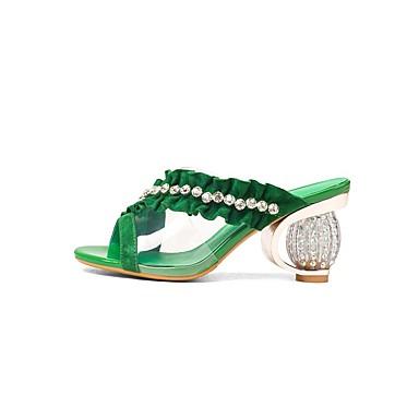 Confort hétérotypique été Sandales 06863603 Fuchsia Talon Printemps Daim Chaussures Femme Vert fwUqxPBFn