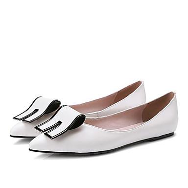 Plat 06848063 Femme Chaussures Ballerines Rouge Talon Confort Cuir Nappa Blanc Printemps x1gqw10OT