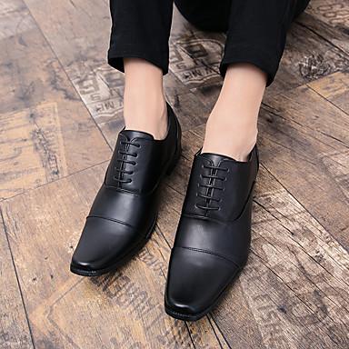 Automne Chaussures Formal Faux British Cuir Oxfords Homme d1qXRwn6XZ