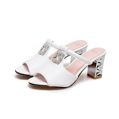 Femme Blanc Confort Sandales Eté Talon Chaussures Bleu Bottier Rose Polyuréthane 06862430 7OPwqrn7