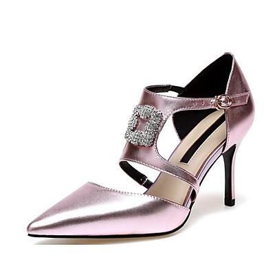 des chaussures en cuir nappa - base - printemps et talon automne confort - pompe talons de talon et aiguille 020375