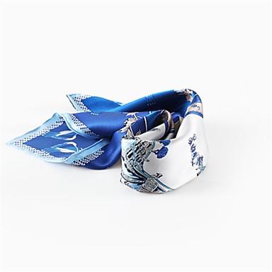 abordables Accessoires pour Chaussures-Soie Echarpe / Ruban Femme Quotidien Orange / Bleu / Rose