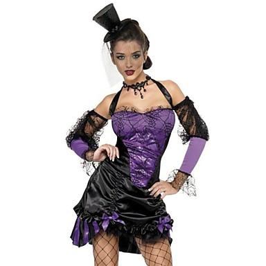 30e1436f59 Traje de Halloween · Bruja Vampiros Vestidos Disfrace de Cosplay Ropa de  Fiesta Baile de Máscaras Disfraz de lujo Adulto