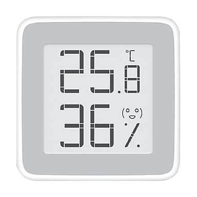 voordelige Test-, meet- & inspectieapparatuur-xiaomi miaomiaoce mmc - c201 e-ink screen thermometer - wit