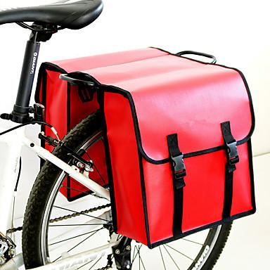 זול תיקי אופניים-25 L תיקים למטען האופניים עמיד למים מוגן מגשם עמיד ללחות תיק אופניים PVC תיק אופניים תיק אופניים רכיבה על אופניים פעילות חוץ