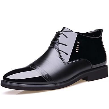 des chaussures en cuir et les cuirs cuirs les automne et hiver porter 7be560