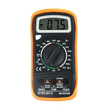 voordelige Test-, meet- & inspectieapparatuur-mas830b multifunctioneel mini 3 1/2 digitaal multimeter lcd-scherm van 15 mm hoog