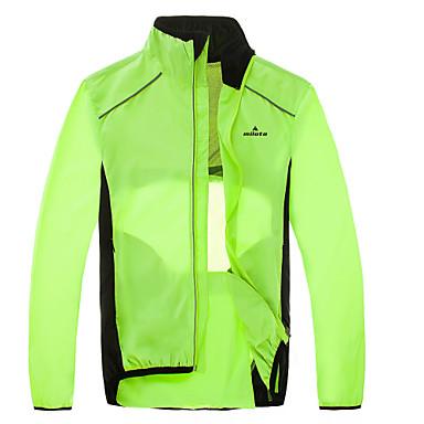 Wosawe Mtb Road Bike Reflective Jacket Light Weight Wateproof Cycling Jacket Windbreaker Jacket Safety Vest Bicycle Clothing Cycling Jackets