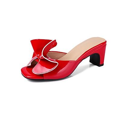 damen neuheit schuhe lackleder sommer minimalismus sandalen ma gefertigter absatz offene spitze. Black Bedroom Furniture Sets. Home Design Ideas
