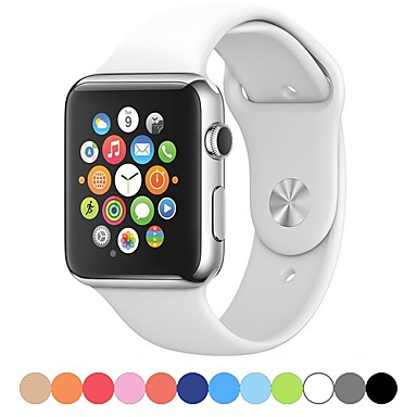 Watch Band varten Apple Watch -sarja 5/4/3/2/1 Apple Urheiluhihna Silikoni Rannehihna