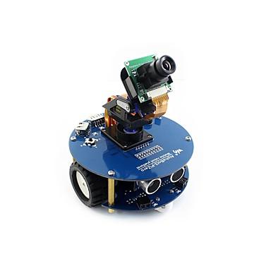 voordelige Elektrische apparatuur & benodigdheden-waveshare alphabot2-pizero w (en) alphabot2 robotbouwset voor raspberry pi zero w (ingebouwde wifi)