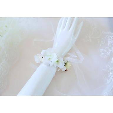 Cvijeće za vjenčanje Wrist Corsage Vjenčanje / Svadba Silk Like Satin / Platno 0-10 cm