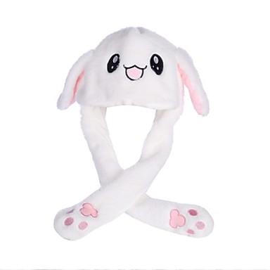 Rabbit Fashion Moving Hat Kigurumi Pajamas Stuffed Animal Plush Toy