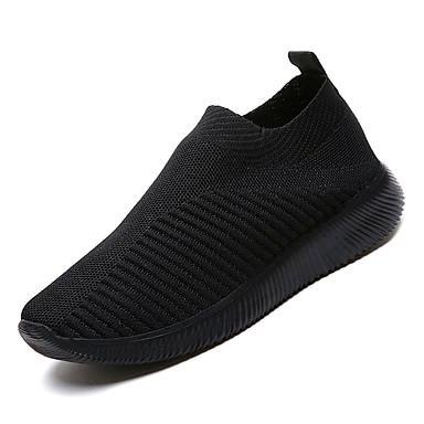 Kadın's Ayakkabı Örümcek Ağı Sonbahar Günlük Atletik Ayakkabılar Yürüyüş Düşük Topuk Günlük için Gri / Mavi / Pembe