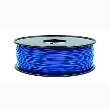 baratos Suprimentos para Impressoras 3D-pin rui impressora 3d fornece 3,0 milímetros e 1,0 kg quadris fluorescente azul